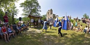 Ritterfest auf der Seisenburg